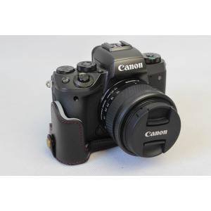 Canon キヤノン PEN EOS M5 カメラ バッグ カメラ ケース 、Koowl手作りトップ...
