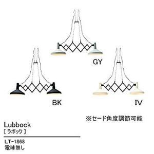 ペンダントライト 2灯 電球別売 Lubbock - ラボック - ブラック LT-1868BK インターフォルム(INTERFORM) willy-willy-zakka