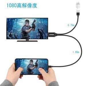 iPhone HDMI変換ケーブル JOYNEW アイフォンテレビ変換ケーブルDigital AV ...