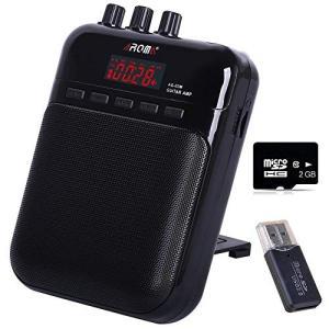 ギターアンプ 小型スピーカー ベースアンプ ミニサイズ MP3モード 5w ポータブルオーディオ マイク輸入 録音 個人練習用 2GB SD|willy-willy-zakka