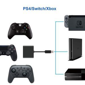 Uniraku「2019最新版」Nintendo Switch用キーボードとマウス変換アダプター 有線と2.4Gキーボード・マウスの変換両対|willy-willy-zakka