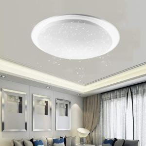LED シーリングライト 星空効果 調光 調色 24W リモコン付き 常夜灯 簡単取付 ~6畳 LEDライト LED照明 北欧 おしゃれ 照 willy-willy-zakka