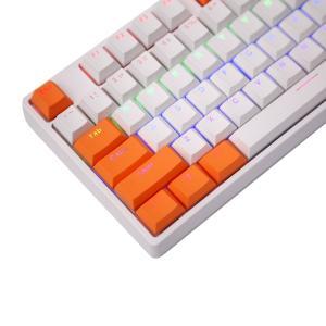 e元素キーボード用PBTキーキャップセット Cherry MXスイッチ互換用キートップ メカニカルキ...