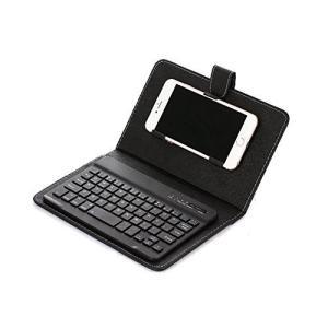 1stモール スマホにキーボード 無線キーボード Bluetooth 搭載 カバー ケース アンドロ...