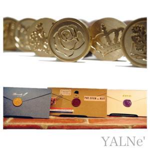 YALNE' ( ヤルネ ) シーリングワックス 4点セット シーリング ワックス 2瓶 ( 大容量...