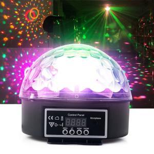 ミラーボール LED エフェクトライト DMX 舞台照明