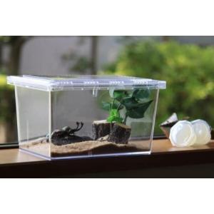 昆虫飼育ケースクリアースライダーシーラケース