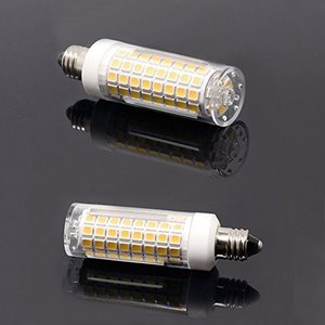 E11口金 LED電球、 7.5W 電球色 110V 可調光 E11電球、 730LM 75W-80Wハロゲンランプ相当…… (5個入り)|willy-willy-zakka