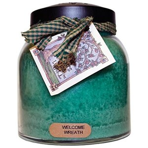A Cheerful Giver Welcome Wreath Baby Jar Candle 34oz JP76 willy-willy-zakka