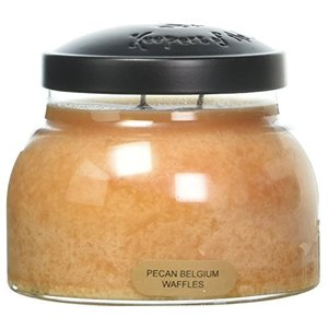 A Cheerful Giver PecanベルギーWaffles Baby Jar Candle 22oz JM105 willy-willy-zakka