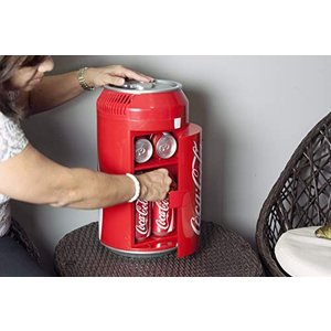 Coca Cola CC06 Fridge、 Mini、 Red by Coca-Cola|willy-willy-zakka