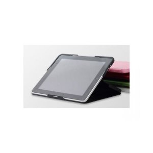 【商品名】 (まとめ)ベセトジャパン iPad 一体型ケース スマートケース(ブラック) smart...