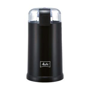 【商品名】 (まとめ)メリタ 電動コーヒーミル ブラックECG62-1B 1台【×2セット】 【ジャ...