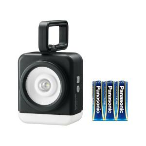 パナソニック(家電) 乾電池エボルタNEO付き 強力マルチライト (黒)