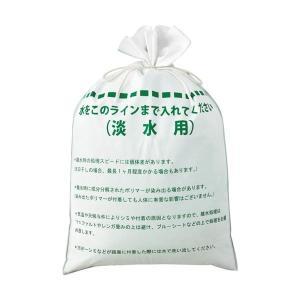 ニッケ商事 簡易吸水土のうKD-3505-108 1箱(50枚:10枚×5パック)