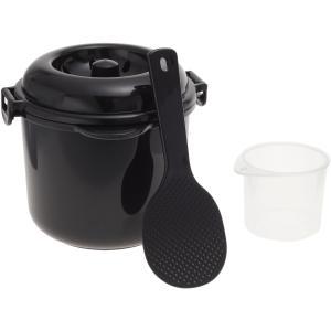 1439【安心の日本製】カクセー 電子レンジ専用炊飯器 備長...