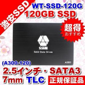 5102WT-SSD-120GB 120GB 内蔵 SSD 2.5インチ TLC SATA3.0 (6Gbps) 、フラッシュメモリ、 ソリッドステートドライブ【メール便限定送料無料】【代引不可】