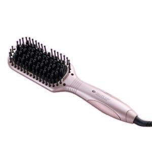 """""""●クレイツイオンセラミック加工  パッド表面には、髪の滑りが良いクレイツイオンセラミック加工を採用..."""