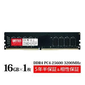 デスクトップPC用 メモリ 16GB PC4-25600(DDR4 3200) WT-LD3200-16GB【相性保証 製品5年保証 送料無料 即日出荷】SDRAM DIMM 内蔵メモリー 増設メモリー 5636 windoor128