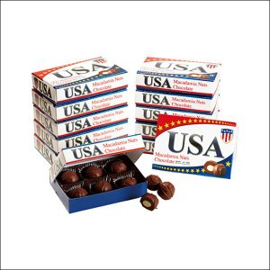 【夏季クール便】【世界のおみやげギフト☆アメリカ】ミニマカデミアナッツチョコレート 12箱セット(69510280)