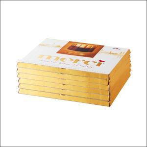 【夏季クール便】【世界のおみやげギフト☆中国】メルシー ゴールドチョコレート6箱(69550590)