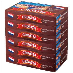 【夏季クール便】【世界のおみやげギフト☆ヨーロッパ】クロアチア クッキーオンチョコレート 6箱(69505060)