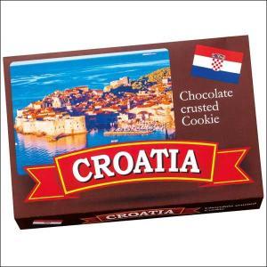 【夏季クール便】【世界のおみやげギフト☆ヨーロッパ】クロアチア クッキーオンチョコレート 1箱(69505070)