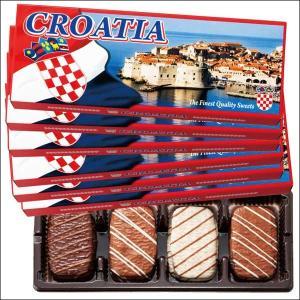 【夏季クール便】【世界のおみやげギフト☆ヨーロッパ】クロアチア チョコクッキー 6箱セット(69505080)