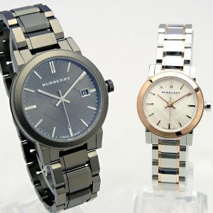 バーバリー BURBERRY ペアBOX付 ペアウォッチ 腕時計 bu9007-bu9205 スイス製(並行輸入品→当店2年保証)|windpal|02