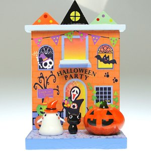 Halloween 手作りガラス細工のハロウィン飾り ハロウィンパーティセット CNSWK244|windpal