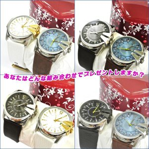 【DIESEL】ディーゼル 腕時計 選べるペアウォッチ DZ1206・1295・1399・1405・1475・1476) 【ペアBOX付き】(DZ-PAIR-001)|windpal|04