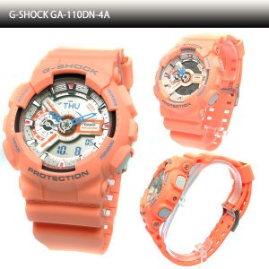 CASIO カシオ Gショック ペアウォッチ ペアセレクション 腕時計 海外 GA-110DN-4A & BA-110SN-4A ペアBOX付き|windpal|02