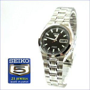 【SEIKO】セイコー メンズアナログウォッチ 自動巻き腕時計 SEIKO5 Made in Japan ブラック SNKG23J1(SNKG23J1)|windpal