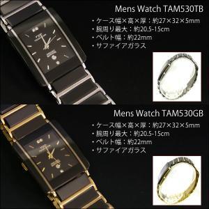 【TECHNOS】テクノス ペアウォッチ 薄型腕時計 TAM530&TAL742【ペアBOX付き】(TAM-TAL-PAIR) windpal 03