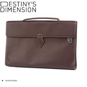 (デスティニーズ ディメンション) DESTINY'S DIMENSION 「Fifth Avenue」2way ブリーフケース(シボ革) HAVANA BROWN windsorknot