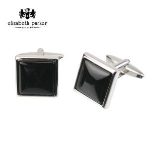 (エリザベス・パーカー) Elizabeth Parker ブラック オニキス カフリンクス|windsorknot