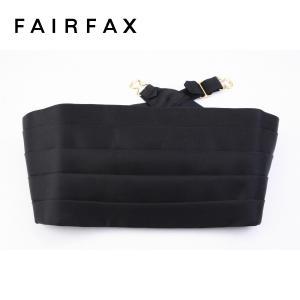 フェアファクス FAIRFAX  ブラック カマーバンド|windsorknot