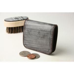 (ファイブウッズ) FIVE WOODS CASK キャスク ボックスケース 「BOX CASE」 ブラウン系 日本製 ブライドルレザー 本革 メンズ 小銭入れ 38062 windsorknot