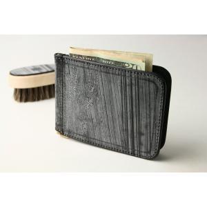 (ファイブウッズ) FIVE WOODS CASK キャスク マネークリップ 「MONEY CLIP」 ブラック 日本製 ブライドルレザー 本革 メンズ 二つ折り札入れ 38064 windsorknot