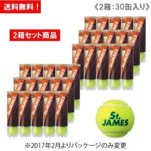 【ボールバックプレゼント】【2箱セット商品】ダンロップ [DUNLOP] テニスボール St.JAM...