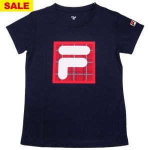 【特別SALE価格】フィラ Tシャツ(VL2073-20)[FILA LS レディーステニスウエア]