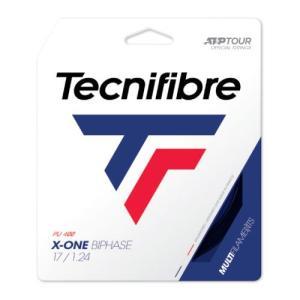 テクニファイバー [tecnifibre] 硬式ストリング X-ONE BIPHASE(ブラック)