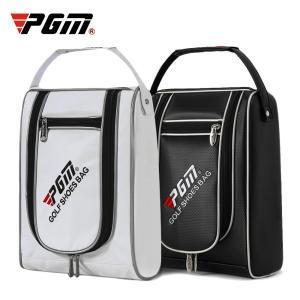 PGM ゴルフPU靴バッグ ゴルフ靴バッグ防水携帯靴バッグ スニーカーバッグ