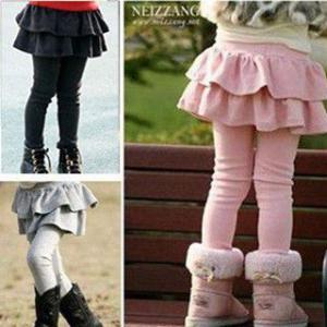 女の子 スカート 子供 タイツ パンツ 子供スカート スパッ...