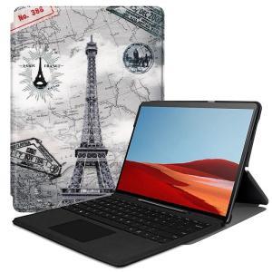 【タッチペン・保護フィルム 2枚付】 Microsoft Surface pro 7 ケース サーフ...