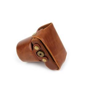 OLYMPUS PEN Lite E-PL8 ケース カメラケース カメラバッグ バッグ カバー オリンパス olympus カメラ 一眼  三脚使用可能ネジ穴装備 ストラップ 送料無料 メー|windyshop|03