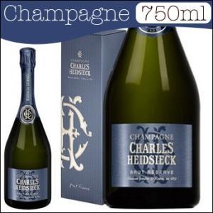 シャルル エドシック ブリュット レゼルヴ ギフトボックス入り 750ml (正規品) (シャンパン...