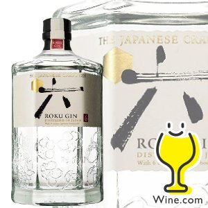 ジン サントリー ジャパニーズクラフトジンROKU 六 ロク 47度 700ml|wine-com