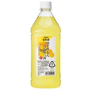 リキュール コンク カクテル ニッカ 果実の酒 ゆずれもんはちみつ酒 1800ml 『HSH』 wine-com