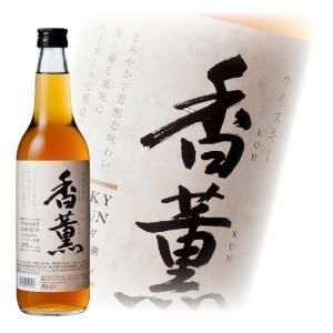 洋酒 国産ウイスキー whisky 香薫 37度 600ml 国産ウイスキー